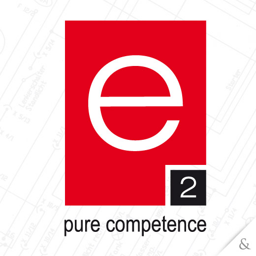 Corporate Design für e2 pure competence