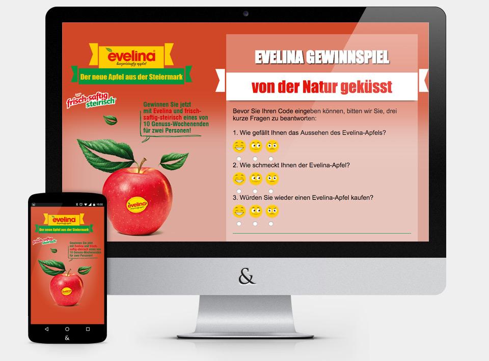 Gewinnspiel Evelina - Frisch Saftig Steirisch