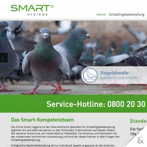 Smart Hygiene - Die Website