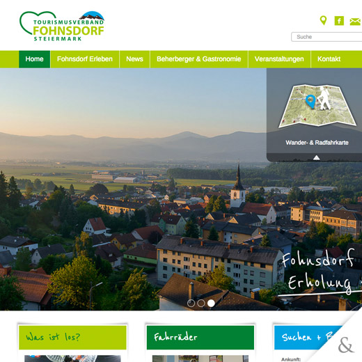 Tourismusverband Fohnsdorf Website