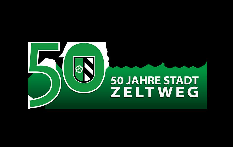 Logo 50 Jahre Stadt-Jubiläum